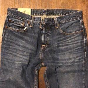 Hollister Jeans - Hollister Boot Jeans - Dark Wash